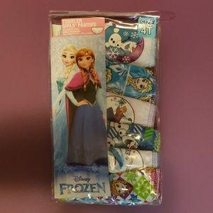 Other - Girls toddler 6 pair Frozen panties
